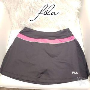 Small tennis skirt fila skort golf